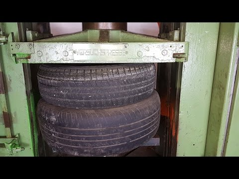 Thumbnail: Experiment Tires Vs 200 ton Hydraulic Press The Crusher