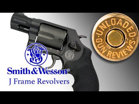 Gun Review: Smith & Wesson J Frame Revolvers Pistol Handgun - YouTube
