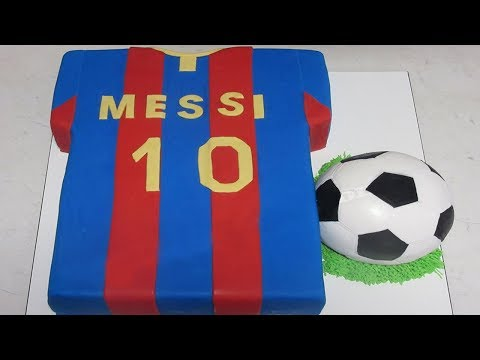 Fc Football Cake Barcelona Soccer Ball Cake By Cupcake