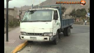 Cinco lesionados en triple colisión en avenida Salvador Allende
