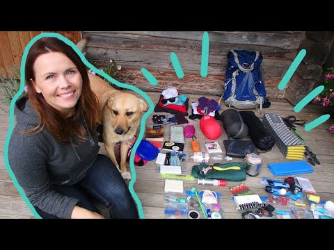 2 WEEK HIKING TRIP GEAR LIST FOR ME AND MY DOG