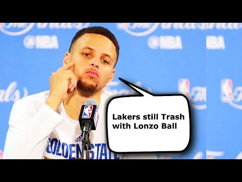 How Stephen Curry Reacted to Lonzo Ball...