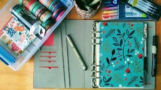 planner set up accessories filofax a5 bullet journal