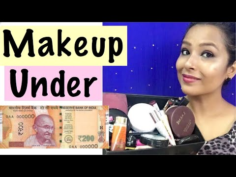 Makeup Under 200 Rs  for beginners