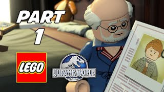 LEGO Jurassic World Walkthrough Part 1  - Isla Sorna (The Lost World Jurassic Park Storyline)