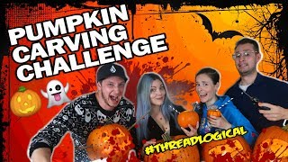 Halloween Pumpkin Carving Challengeft. Simplynailogical