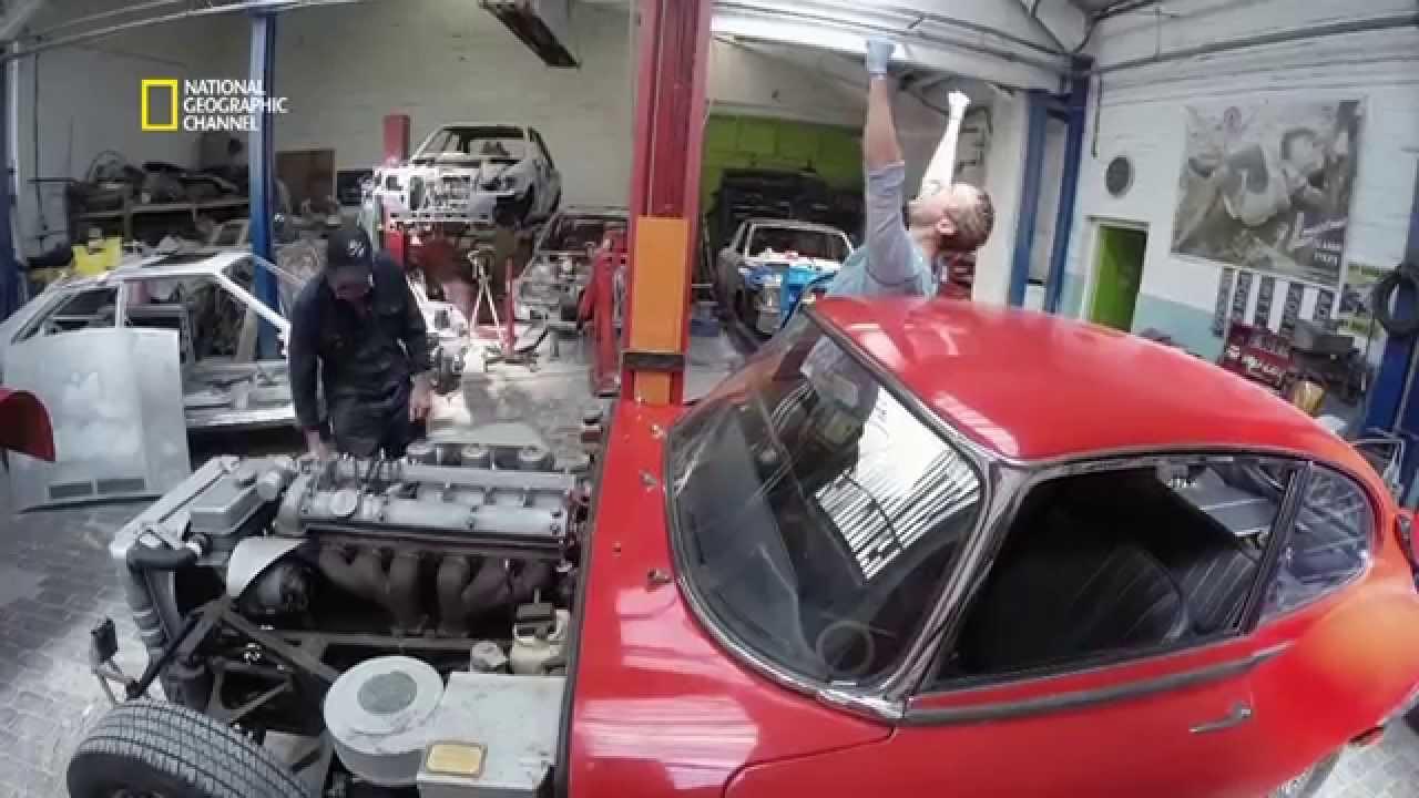 Moteur jaguar type e 4 2 - Garage jaguar montpellier ...