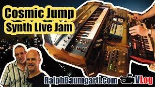 Cosmic Jump | Live Synthesizer Jam, Roland JD-Xi, Vocoder, Korg Volca, Strymon Timeline & BigSky