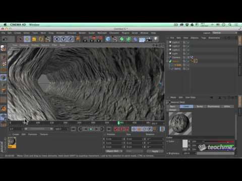 Δημιουργία 3D Τούνελ στο Cinema 4d