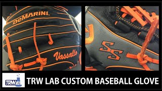 How to make a custom Baseball Glove with a Heat Press and Vinyl Cutter TRW