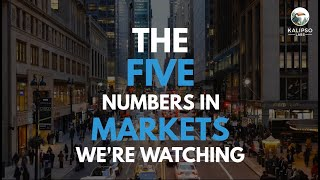 Text-to-Video Sample: Five numbers in markets