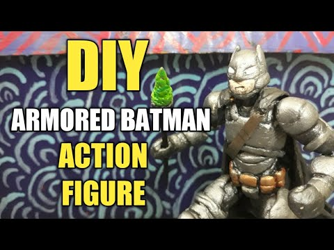 DIY Armored Batman Action Figure (batmanvsuperman ver.)