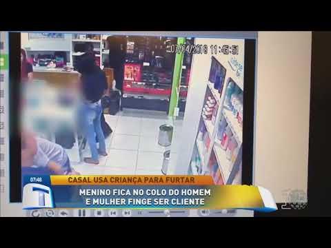 Casal usa criança para furtar loja - Tribuna da Massa Manhã 160418
