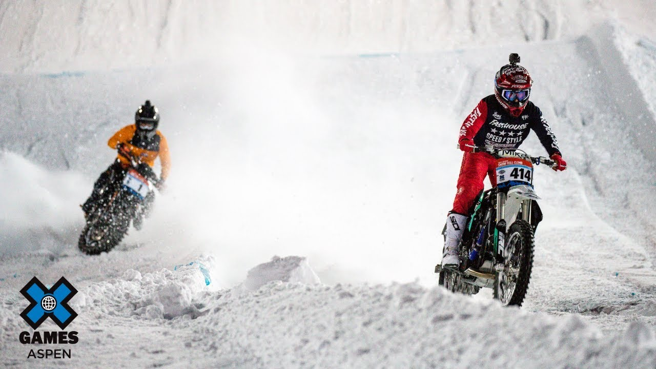 Logan Mead wins Harley-Davidson Snow Hill Climb | X Games ...