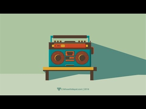 How to Create Radio - Illustrator Tutorials For Beginners