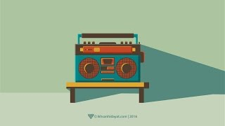How to Create Radio - Illustrator Tutorials For Beginners