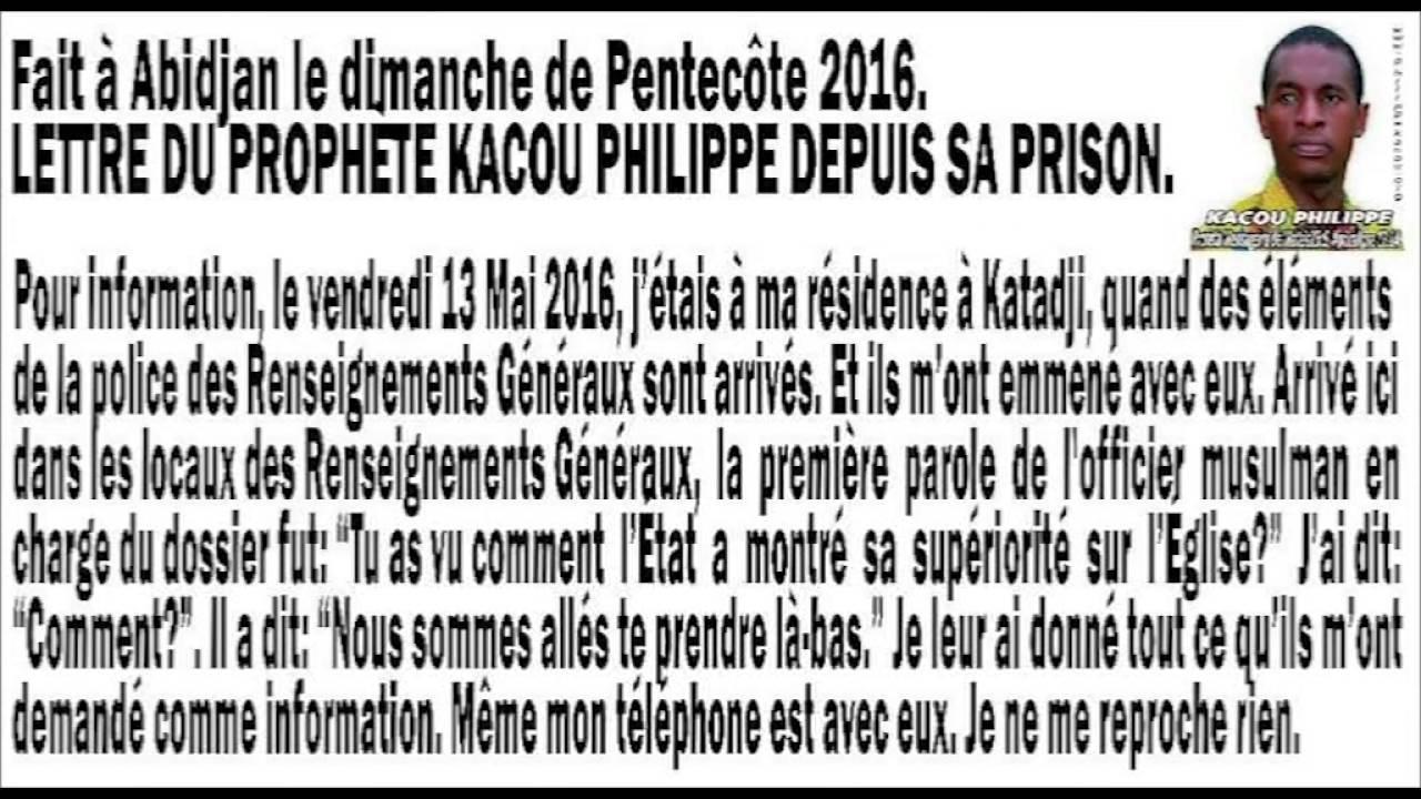 Arrestation Du Prophète Kacou