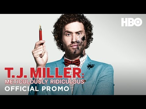 T.J. Miller 'Meticulously Ridiculous' Promo (HBO)