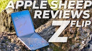 Apple Sheep Reviews Galaxy Z Flip: Is this the Future?