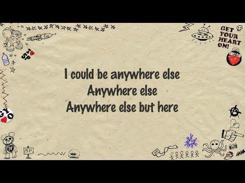 Simple Plan - Anywhere Else But Here (Lyrics)
