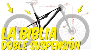 MOUNTAIN BIKE DOBLE SUSPENSIÓN XC CLASIFICACIÓN BAJADORAS Y ESCALADORAS | DANIEL RACE