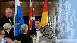 Staatsbankett Anlässlich Des Besuchs Von Prinz Charles Und Herzogin Camilla - Bayern