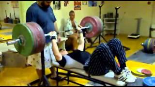 430 lb (195 KG) Bench Press - Roman Konstantinov