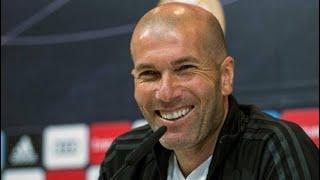 CANLI - Zidane, Galatasaray maçı öncesi basın toplantısı düzenliyor