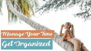 How To Manage Your Time - 7 Steps to Organization! WAKE UP WEDNESDAY! Laser Away | Rebecca Louise