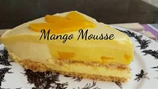 How to make Mango Mousse cake