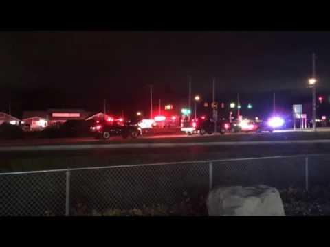 Crash on Norton Shores Seaway Drive Dec. 7, 2016