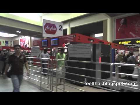 จุดเช็คอิน Air Asia สนามบินดอนเมือง