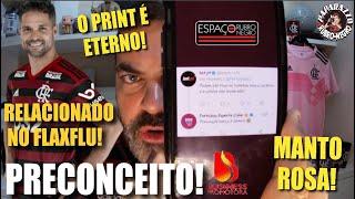 O PRINT É ETERNO! Site de Apostas e Twitter do Fortaleza atacam flamenguistas! Diego no FLAxFLU!
