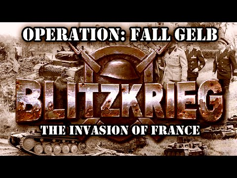 "Blitzkrieg. German Campaign. Mission 3 ""The Invasion of France"""
