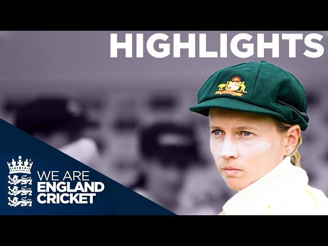 England v Australia Kia Women's Test Match | Day 3 Highlights | The Women's Ashes 2019