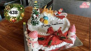 chocolate cake decorating bettercreme vanilla (438) Học Làm Bánh Kem Đơn Giản Đẹp - Noel (438)