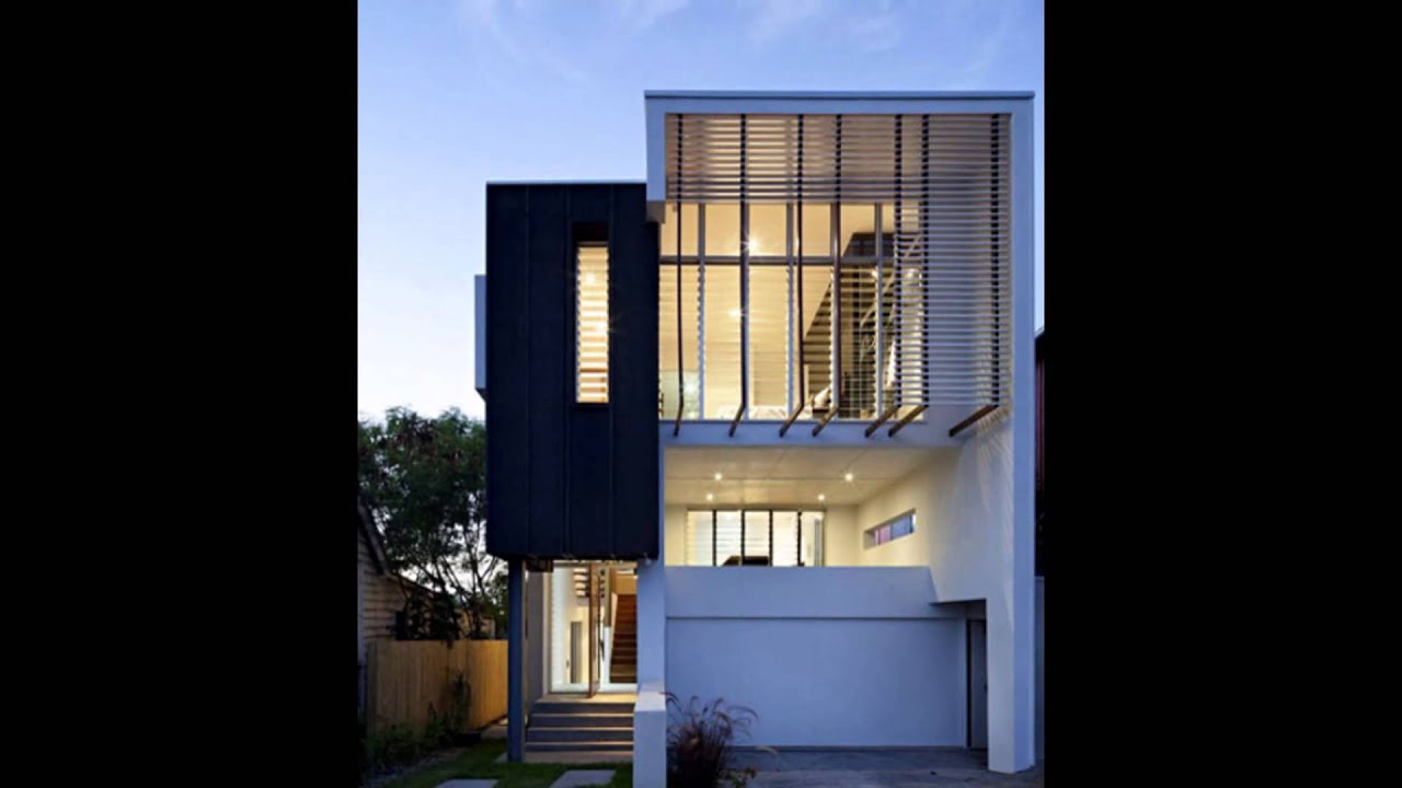 Modern minimalist house design september 2015 youtube for Modern minimalist house plans