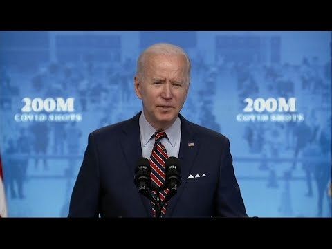 Biden Promotes Tax Credit to Prod Businesses on Vaccinations