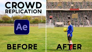 VFX Crowd Replication in After Effects