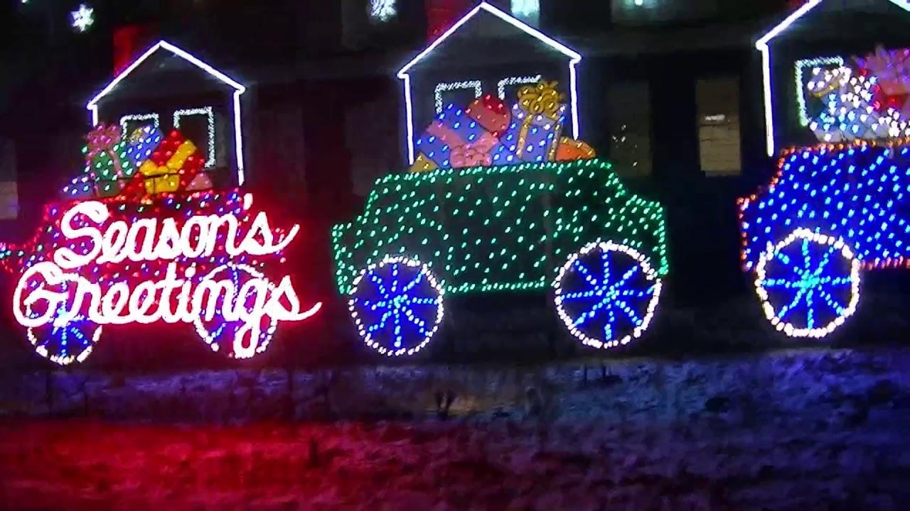 GE Nela Park 2018 Holiday Light Display