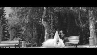 Свадебный черно-белый клип