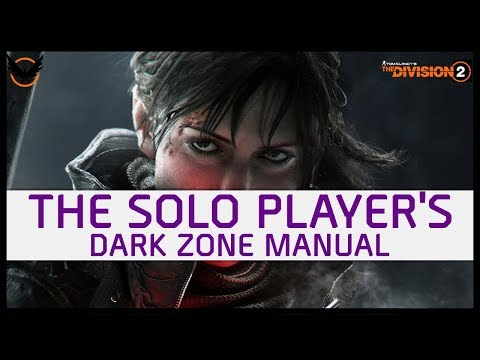 The Division 2 : Solo Player Lessons For The Dark Zone