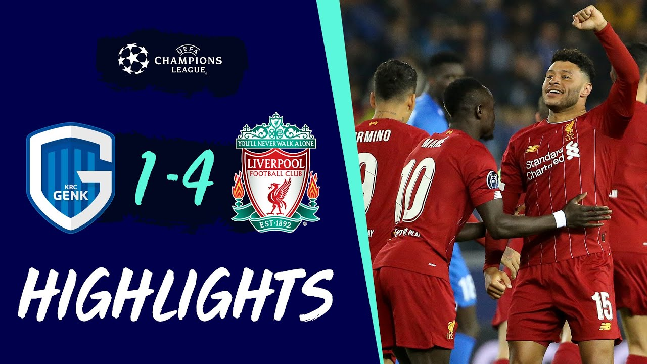 Genk 1-4 Liverpool: Highlights | Oxlade-Chamberlain scores a worldie!
