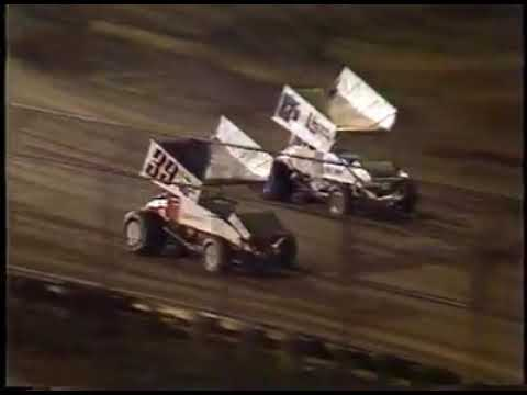 San Jose Speedway Racing Action