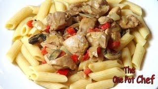 Creamy Chicken Paprika - Recipe