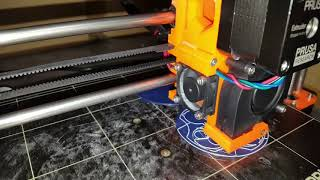 Dr Who Bow-ties are cool in Gallifreyan printed on ORIGINAL PRUSA i3 MK2