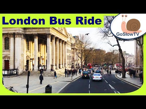 London Bus Ride | Shaftsbury Avenue To Elephant And Castle | Route 176  Slow TV | Episode 50 (2018)