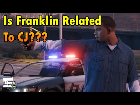 Is Franklin Related To CJ? GTA V Theory