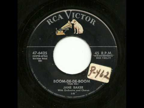 Jane Baker With Orchestra And Chorus - Boom-De-De-Boom (RCA Victor)