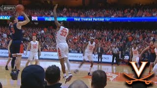 Virginia Ties A School Record With 18 Made 3-Pointers